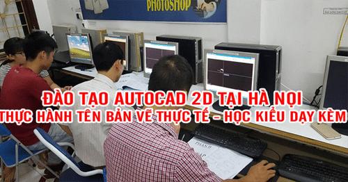 học AutoCad 2D
