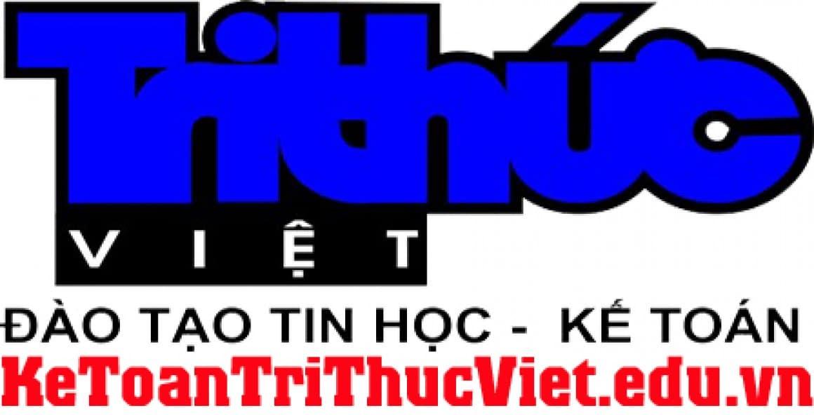 Trung tâm đào tạo tin học kế toán Tri Thức Việt Logo