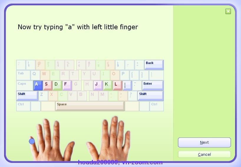 trung tâm tin học kế toán tri thức việt phần mềm đánh máy 10 ngón